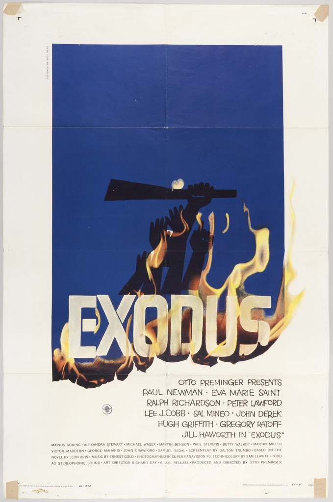 Exodus. Saul Bass.